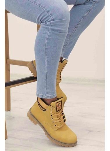 Madmext Sneakers Sarı